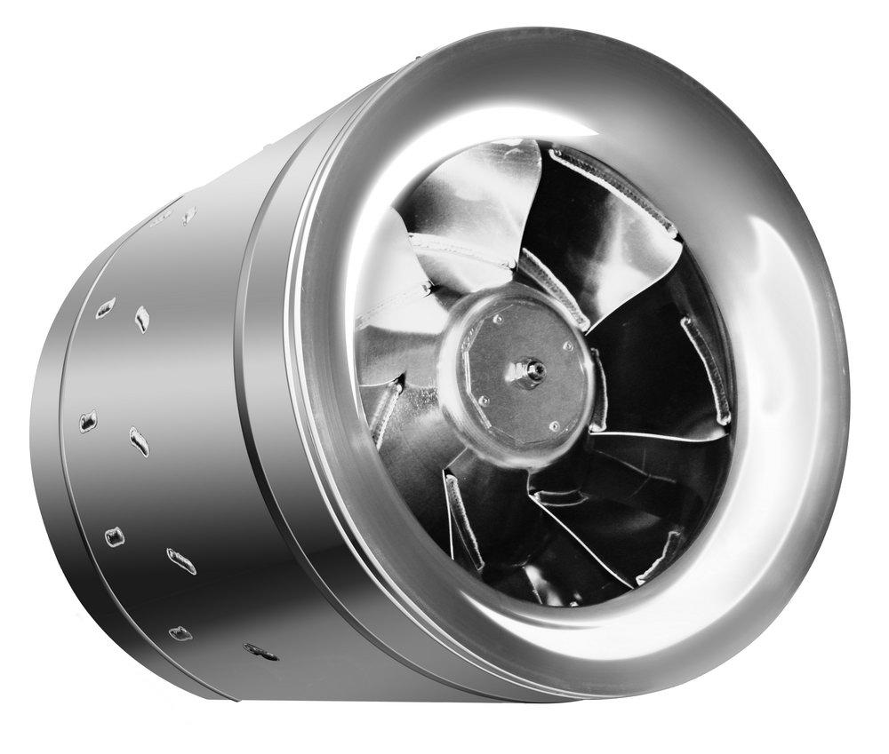 Вентилятор вытяжной серии Rainbow EAFR-100TH white с таймером и гигростатом